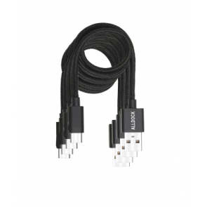 Alldock 4 Cable Value Pack - C-Type Black
