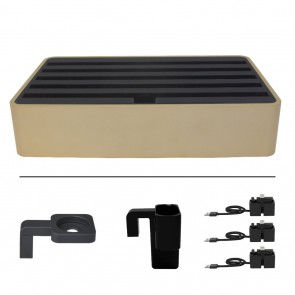 AllDock Classic Family Aluminium Gold and Black Package