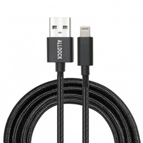 Alldock Extra Long C-Type Cable Apple PD Black