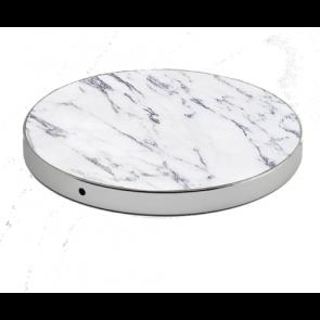 Alldock LuxeTech Wireless Pad - White Marble