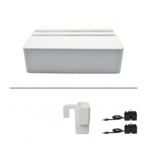 AllDock Wireless White Apple Package