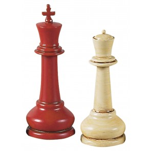 Museum Master Staunton Chess Set by AM Living