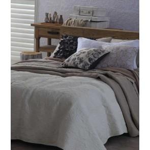MM Linen Anfora Ivory Small Bedspread Set