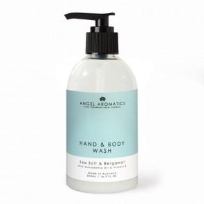 Angel Aromatics Sea Salt & Bergamot Hand and Body Wash 500ml