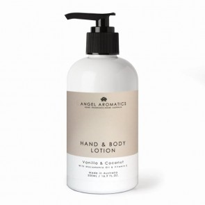 Angel Aromatics Vanilla and Coconut Hand and Body Lotion 500ml
