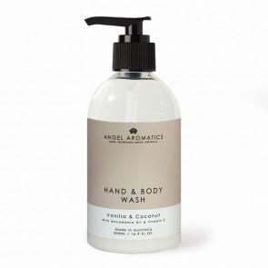Angel Aromatics Vanilla and Coconut Hand and Body Wash 500ml