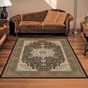 Castello Anima Black Rug by Saray Rugs