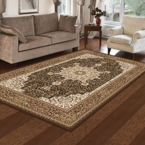 Castello Anima Brown Rug by Saray Rugs
