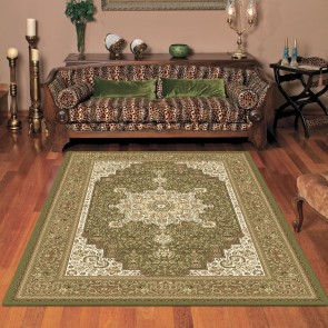 Castello Anima Green Rug by Saray Rugs