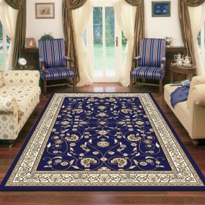 Apollo Anima Dk Blue Rug by Saray Rugs
