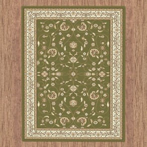 Apollo Anima Green Rug by Saray Rugs
