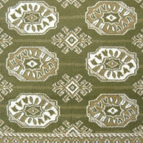 Viola Anima Green Rug by Saray Rugs