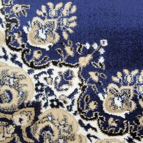 Aubusson Anima Dk Blue Rug by Saray Rugs