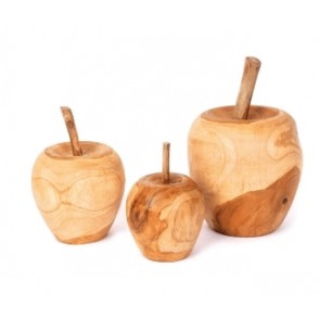 Recycled Teak Timber Apple