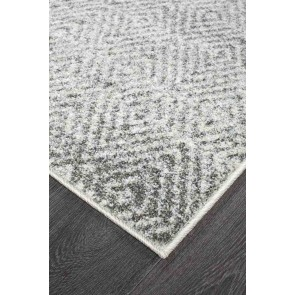 Aspect 355 Grey Runner by Rug Culture