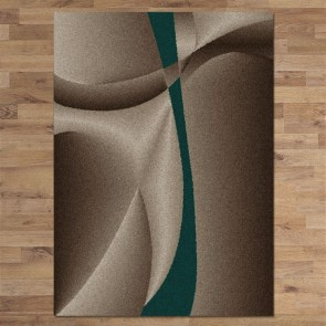 Atlanta 387 teal by Saray Rugs