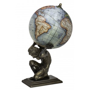 Atlas World Globe by AM Living