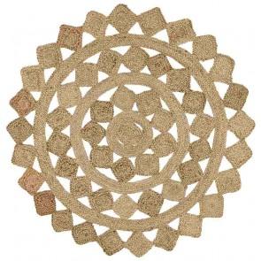 Atrium Tessellate Natural Round By Rug Culture