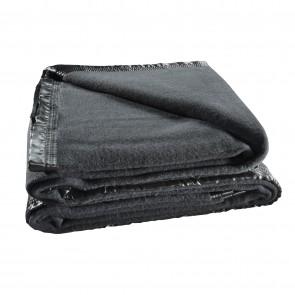 Australian Wool Blanket 480gsm Charcoal