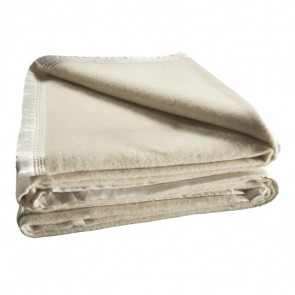 Australian Wool Blanket 480gsm Cream