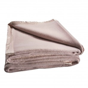 Australian Wool Blanket 480gsm Pink