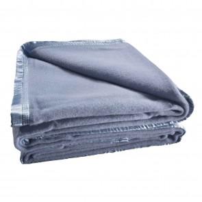 Australian Wool Blanket 480gsm Blue