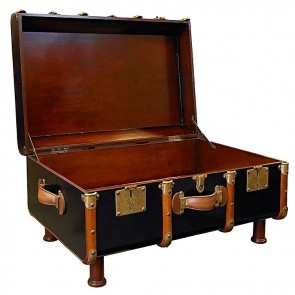 Stateroom Trunk Coffee Table by AM Living