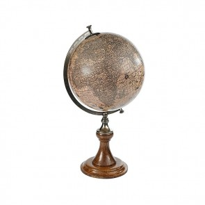 Hondius 1627 Globe with Stand by AM Living
