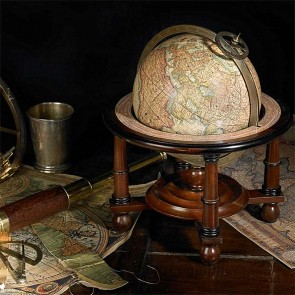 Mercator Globe with Stand by AM Living
