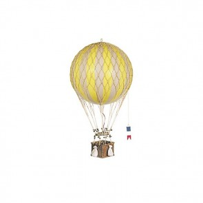 Royal Aero Yellow Model Hot Air Balloon by AM Living