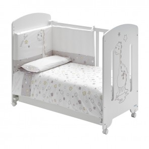 Cute Co Copito Baby Cot With Mattress