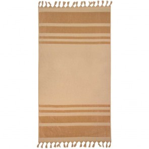 Bambury Aurora Beach Towel Bisque