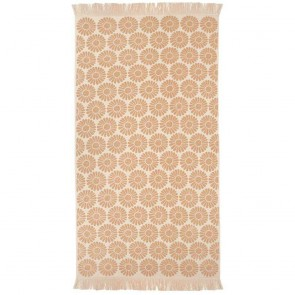 Bambury Daisy Beach Towel Bisque