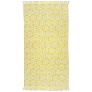 Bambury Daisy Beach Towel Pineapple