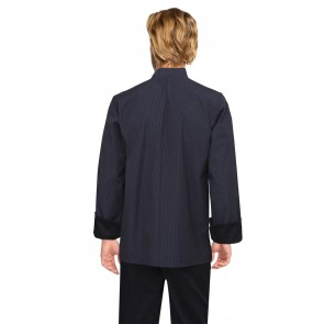 Carlisle Executive Fine Stripe Chef Jacket by Chef Works