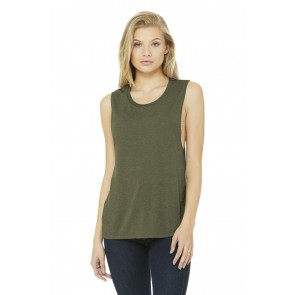 Bella+canvas Women's Flowy Scoop Muscle Tank