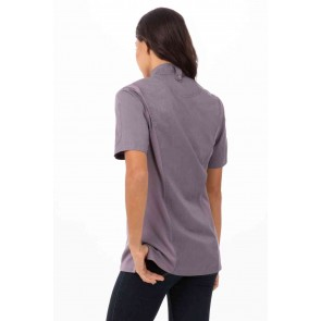 Springfield Womens Purple Zipper Chef Jacket by Chef Works
