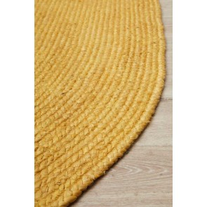 Bondi Yellow Oval by Rug Culture
