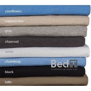 Bambury Bed T Charcoal King Sheet Set