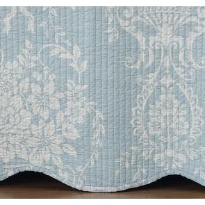 Bianca Florence Blue Bedspread Set
