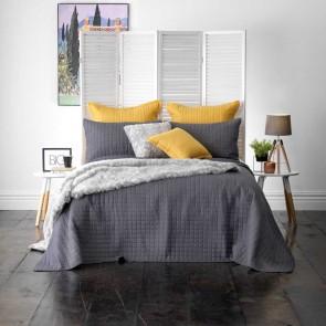 Bianca Smithfield Charcoal Bedspread Set