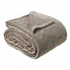 Bianca 480gsm Mansfield Ultra Soft Velvet Super King Blanket