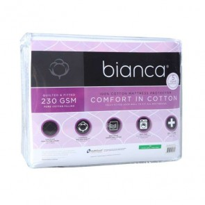 Bianca Comfort in Cotton Quilted Mattress Protector