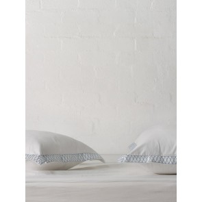 Belle Pillowcase European by Linen and Moore