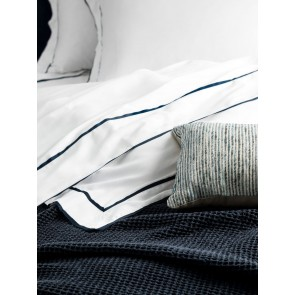 Grosgrain Sheet Set King By Linen and Moore