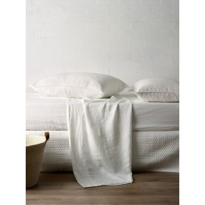 Mondo 100% French Linen Fitted Sheet Set