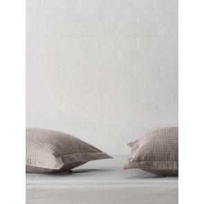 LM Home River White European Pillowcase