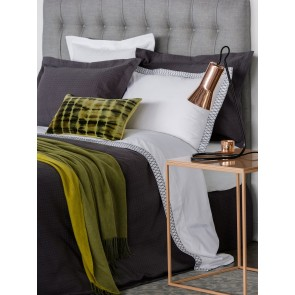 LM Home River White Tailored Pillowcase