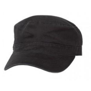 Black Military Cap
