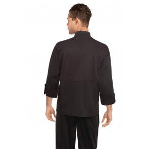 New Yorker Black Cool Vent Chef Jacket by Chef Works